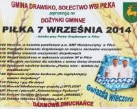 Dożynki gminne - Piłka - 7 wrzesień! Zapraszamy!