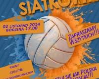 Turniej siatkówki na ORLIKU - 2 listopad! Zapraszamy!