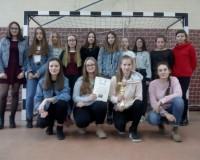 Mistrzynie Powiatu w Piłce Ręcznej dziewcząt - SP Drawsko