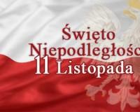 11 listopada - Narodowe Święto Niepodległości!