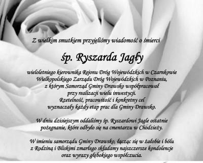 Ostatnie pożegnanie śp. Ryszarda Jagły