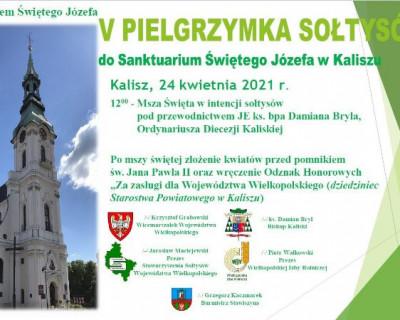 V Pielgrzymka Sołtysów do Sanktuarium Świętego Józefa w Kaliszu