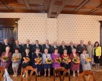 Uroczyste spotkanie Jubilatów 50-lecia Pożycia Małżeńskiego z terenu Gminy