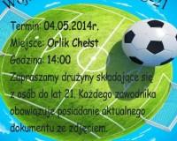 Turniej o Puchar Wójta - 4 maj - Orlik w Chełście! Zapraszamy!
