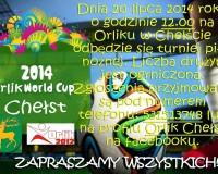 Drużynowy turniej piłki nożnej na Orliku