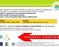 Projekty grantowe już w marcu