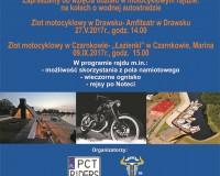 Motocyklowy Rajd promujący Noteć, Dolinę Noteci, MDW E70