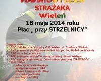 Powiatowy Dzień Strażaka - Wieleń